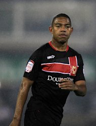 Angelo Balanta has re-joined MK Dons on loan