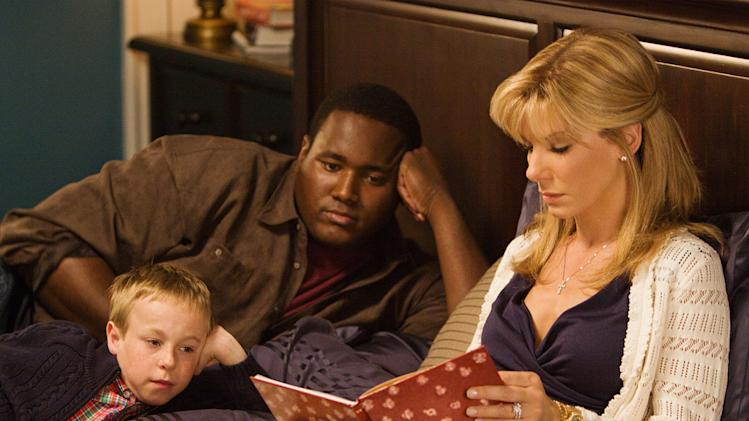 The Blind Side Production Photos 2009 Warner Bros. Jae Head Quinton Aaron Sandra Bullock