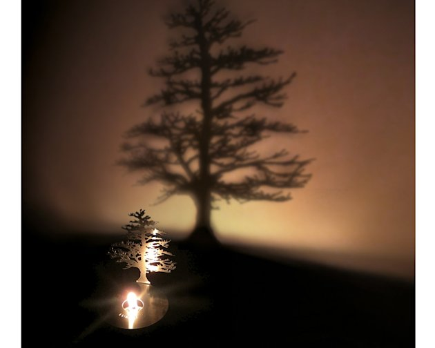 lumen projector Space-saving Christmas tree alternatives