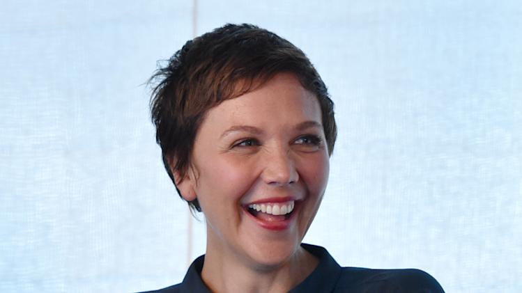 "IMAGE DISTRIBUTED FOR SUNDANCETV - Maggie Gyllenhaal attends the SundanceTV luncheon and panel with the creators and cast behind their scripted original series' ""Rectify"", ""The Honorable Woman"" and ""The Red Road"" for a discussion around the popularity of creator-driven television on Wednesday, July 9, 2014, in Los Angeles. (Photo by John Shearer/Invision for SundanceTV/AP Images)"
