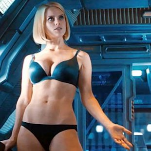 Alice Eve in &#39;Star Trek Into Darkness&#39; -- Paramount