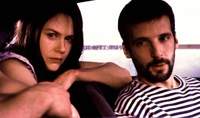 Nicole Kidman and Mathieu Kassovitz in Birthday Girl
