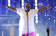 "FILE - This March 1, 2012 file photo shows Cee Lo Green performing at the Caesars Entertainment ""Escape To Total Rewards"" concert in Los Angeles. Green's about to shake up the NFL. Green is taking over the NFL Network's ""Thursday Night Football"" intro, and in typical fashion for the flamboyant rapper-singer he's putting his own spin on things. (AP Photo/Chris Pizzello, file)"