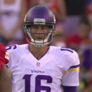 NFL NOW: Matt Cassel named Minnesota Vikings' starting quarterback