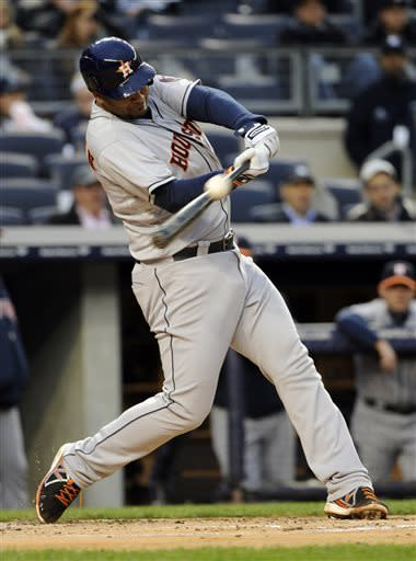 Astros romp in the Bronx, beat Yanks 9-1