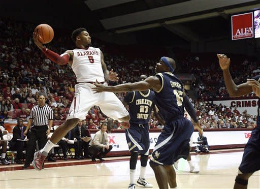Releford, Alabama beat Charleston Southern 59-46