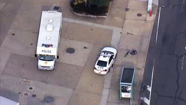 Police officer riding a bicycle struck in Northeast Philadelphia
