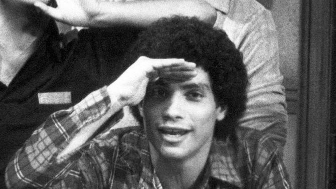 """FILE - In this 1978 file photo, Robert Hegyes portrays Juan Epstein from the comedy series """"Welcome Back Kotter."""" The actor best known for playing the Jewish Puerto Rican student on the 1970s TV show has died. He was 60. (AP Photo, file)"""