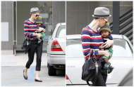 Earlier this week Snow White and The Huntsman star Charlize Theron  stepped out in Beverley Hills sporting a distinctly new look in the form of a closely-shaved back and sides buzz cut