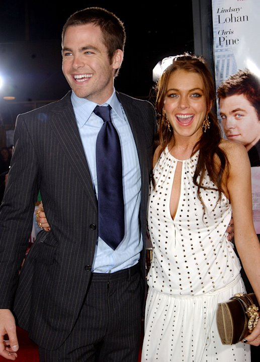 Chris Pine 2006 Lindsay Lohan