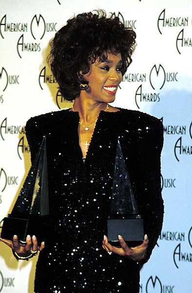 Winning all the awards at the AMAs in 1989