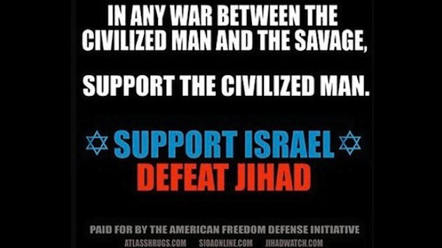 NYC Subway Ads Call for Defeat of Jihad &#39;Savages&#39; (ABC News)