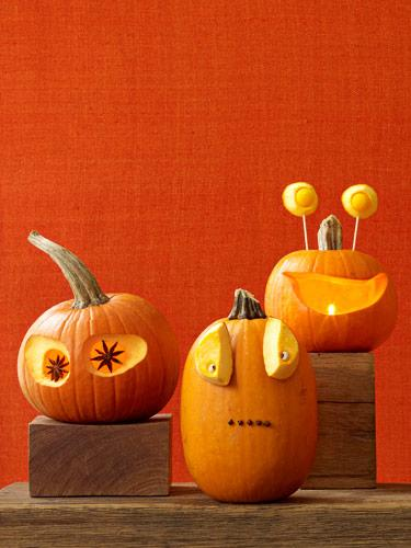 Pumpkins with Personality