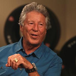 Mario Andretti: I can spot people sitting in the stands