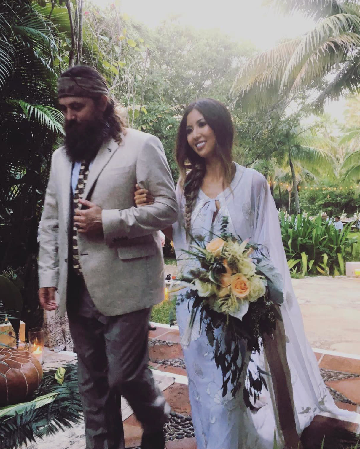 Willie Robertson of Duck Dynasty Walks Daughter Rebbeca Down the Aisle in Mexico Wedding