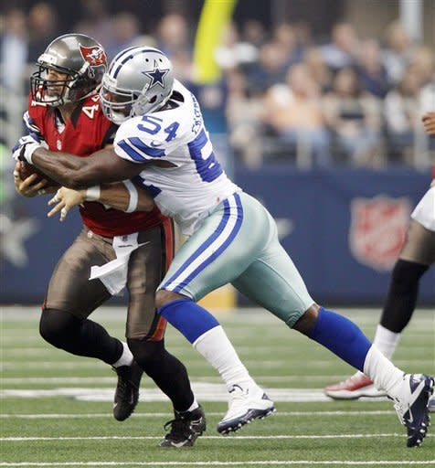 Cowboys get short fields in 16-10 win over Bucs