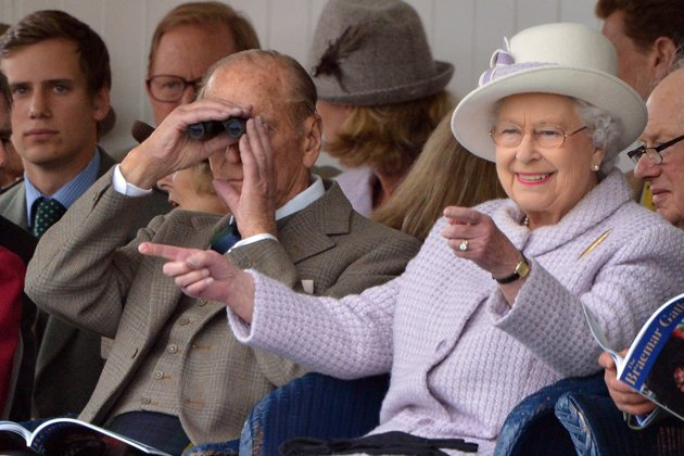 Die coolen Moves hat Queen Elizabeth II. drauf! (Bild: Getty)