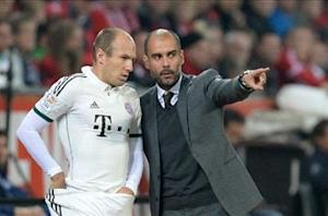 Guardiola: I'm in love with Robben