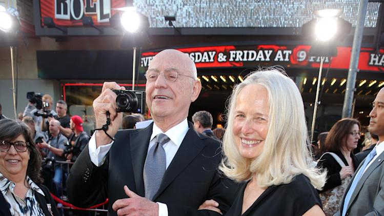 Alan Arkin and wife Suzanne Newlander Arkin at New Line Cinema's World Premiere of 'The Incredible Burt Wonderstone' held at Grauman's Chinese Theatre on Monday, Mar., 11, 2013 in Los Angeles. (Photo by Eric Charbonneau/Invision for New Line Cinema/AP Images)