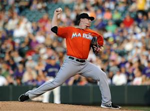 Koehler goes 7 strong, Marlins top Rockies 3-1