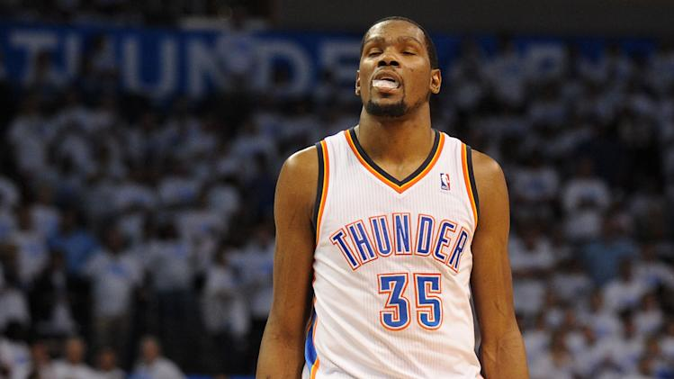 The 10-man rotation, starring Kevin Durant's moment