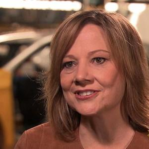 GM's new chief officer on being in the driver's seat
