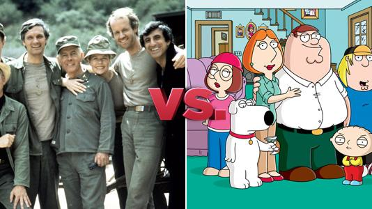 M*A*S*H vs. Family Guy