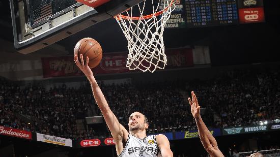 Manu Ginobili sparks Spurs to Game 5 win