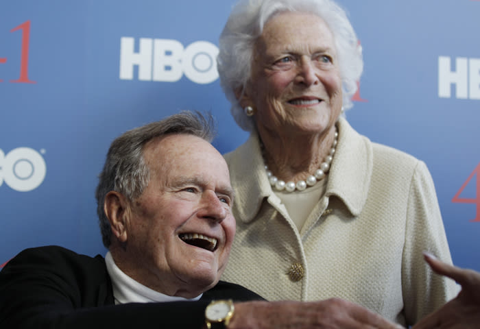 George H.W. Bush Remains In Hospital With Lingering Cough, In Stable Condition