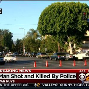 Suspect Killed In Van Nuys Officer-Involved Shooting