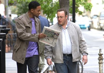 Will Smith and Kevin James in Columbia Pictures' Hitch