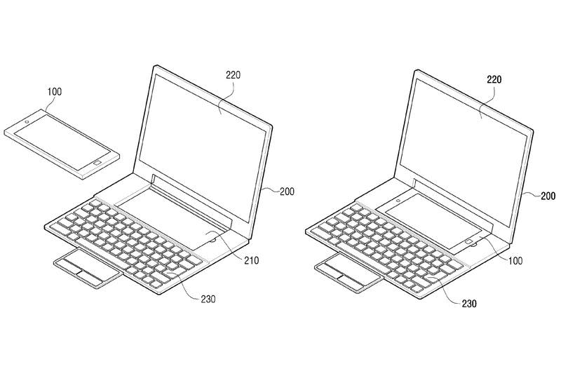 Samsung proposes an Android phone that transforms into a Windows laptop