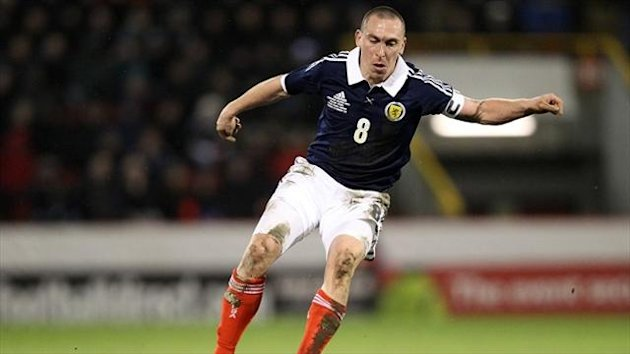 Scott Brown missed Scotland's last game through injury