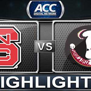 NC State vs Florida State | 2013 ACC Football Highlights