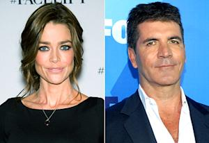 "Denise Richards Denies Date With ""Hot Piece of Ass"" Simon Cowell"
