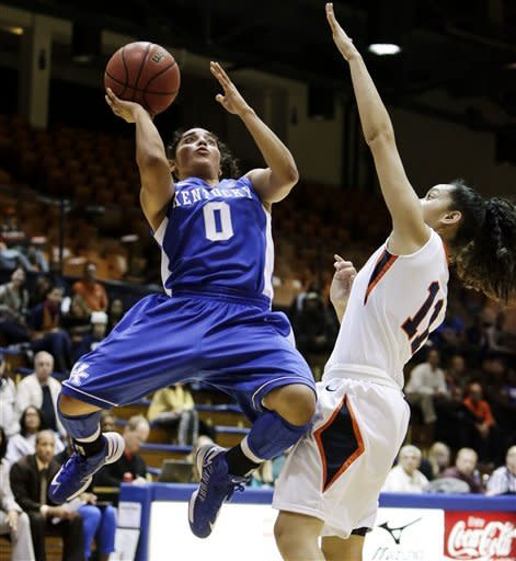 Stallworth, No. 7 Kentucky women beat Pepperdine