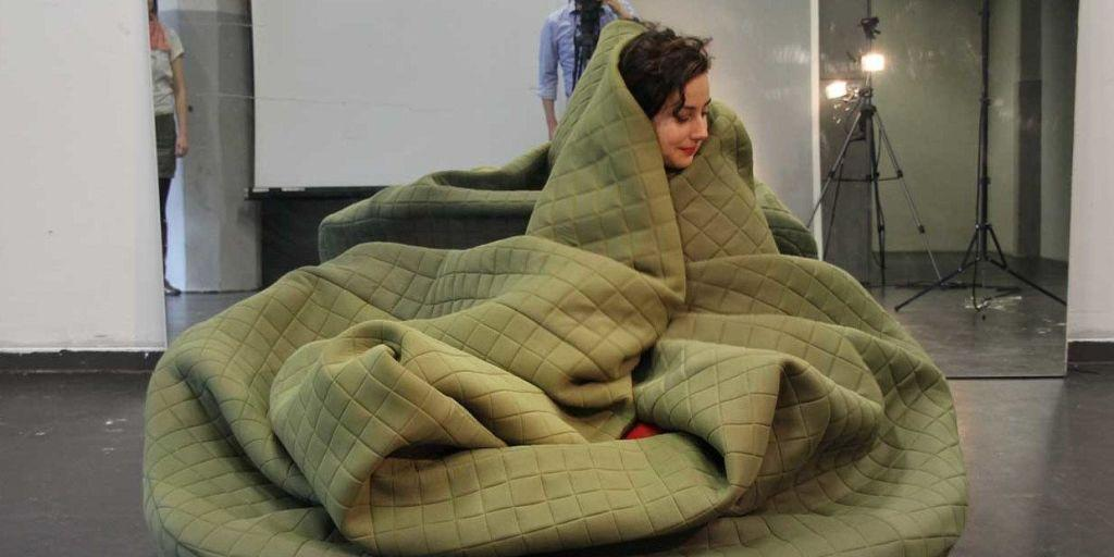 This Sofa Is Basically A Cozy Couch And A Hug Rolled Into One