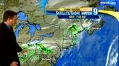 Clouds, showers roll through Wednesday
