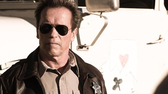 """This film image released by Lionsgate shows Arnold Schwarzenegger in a scene from, """"The Last Stand."""" (AP Photo/Lionsgate, Merrick Morton)"""