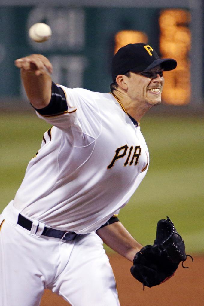 Morton remains unbeaten as Pirates top Brewers 2-0
