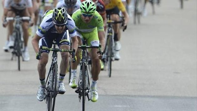Matthew Goss Peter Sagan Tour 2012 12. Etappe Sprint