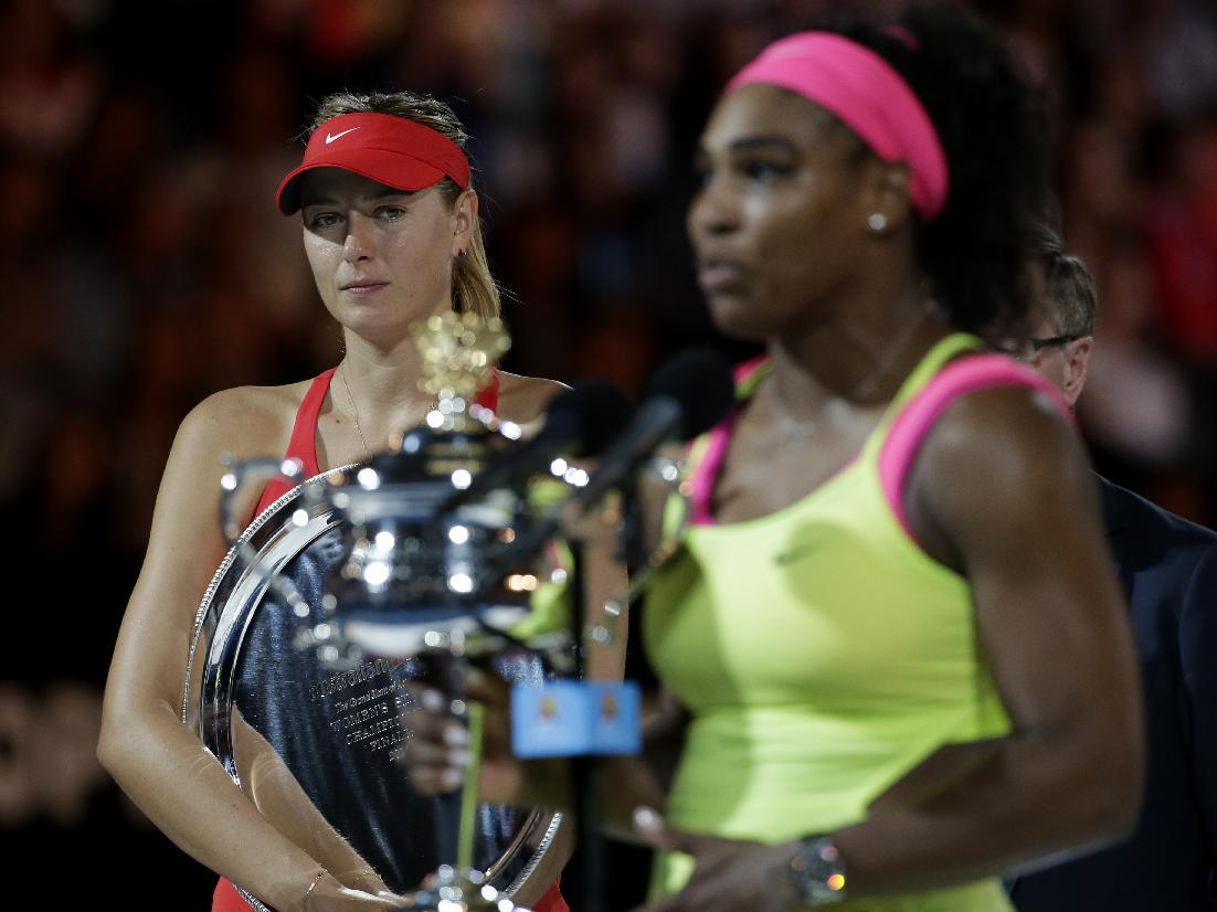 Sharapova humbled but gracious after latest loss to Williams