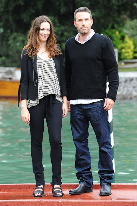 67th Annual Venice Film Festival 2010 Rebecca Hall Ben Affleck