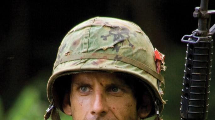 Ben Stiller Tropic Thunder Production Stills DreamWorks 2008