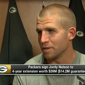 Green Bay Packers wide receiver Jordy Nelson signs contract extension