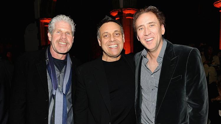 Season of the witch NY Premiere 2010 Ron Perlman Nicolas Cage Dominic Sena