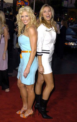 Premiere: Torrie Wilson and Stacy Keibler at the L.A. premiere of Lions Gate's Godsend - 4/22/2004