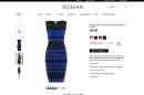 Roman Originals' online listing for #TheDress describes it as being Royal Blue