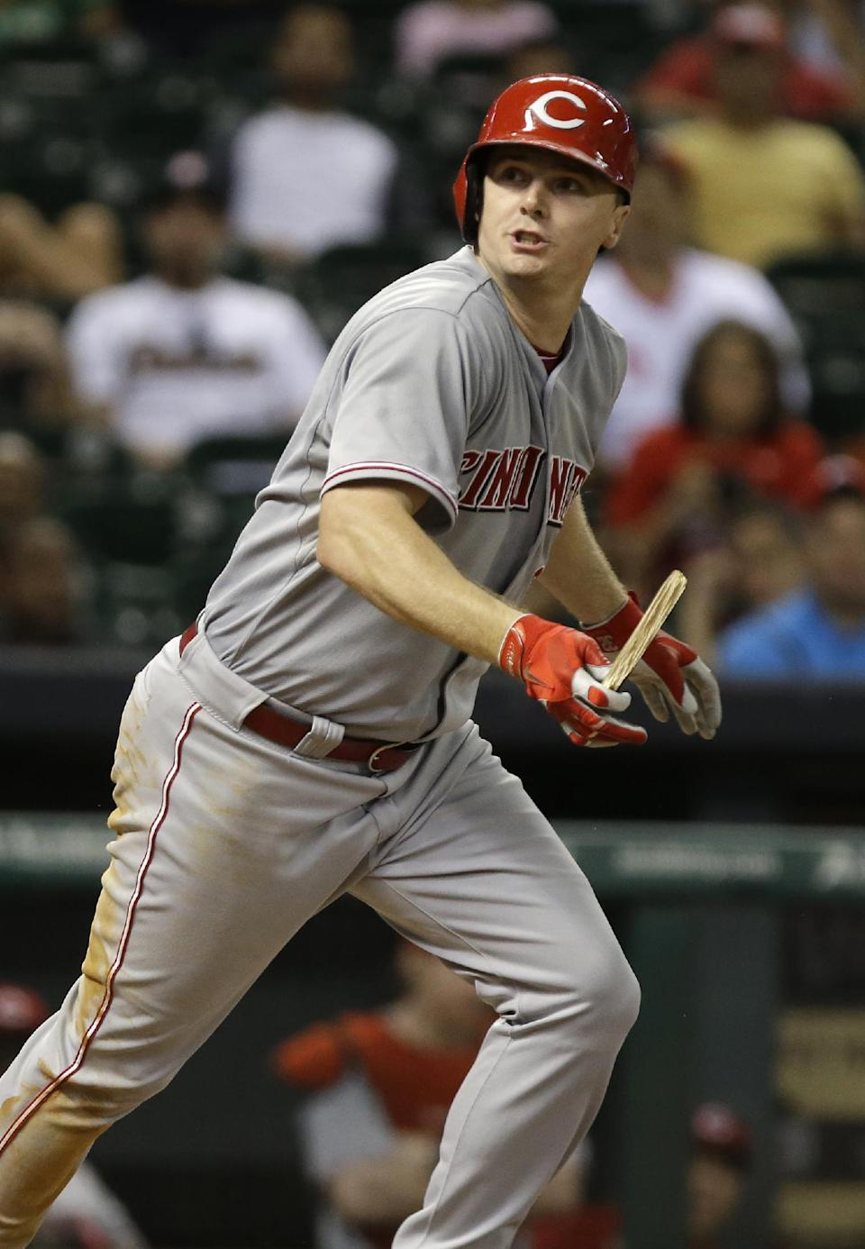 Reds hand Astros 100th loss, 10-0