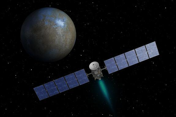 NASA Spacecraft Arrives at Dwarf Planet Ceres This Week